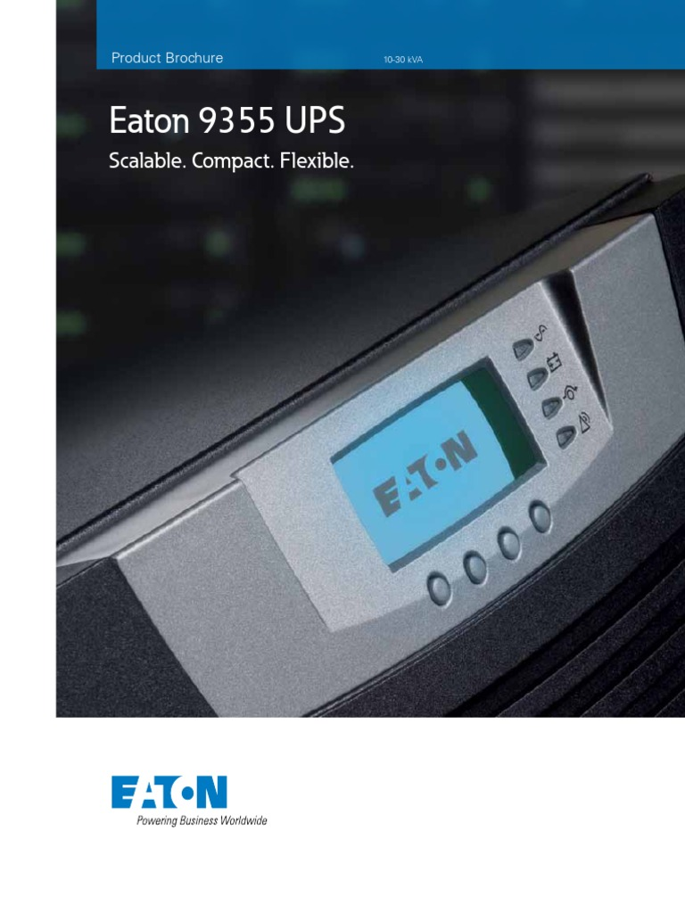 Eaton UPS | Data Center | Mains Electricity