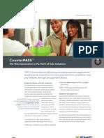 Infonox Counter Pass Information Sheet