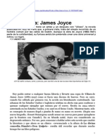 Revista Ñ - Vida y obra de James Joyce