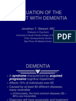 Evaluation of the Patient With Dementia1747