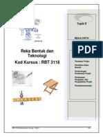 MODUL Reka Bentuk Dan Teknologi RBT3118_bab9
