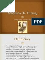 Máquina de Turing