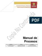 Manual de Procesos Capacitacion