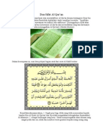 Dua Sifat Al Qur'an