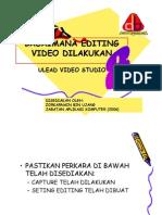 Video Editing Multimedia Ulead