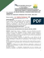 Proyecto Salud Mental Programa Coronel Oviedo