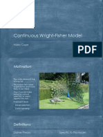 Continuous Wright-Fisher Model