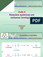 Bioquímica - Reações Químicas