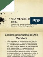 Presentación Ana Mendieta