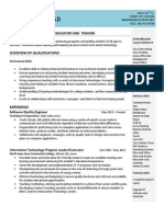 lovstad resume march 2014