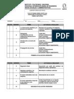 Plan de Trabajo Mecanica Tm Enero 2014