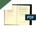 82101632 Malcolm X John Henrik Clarke