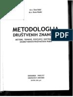Kukić, Markić - Metodologija Drustvenih Znanosti