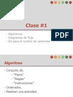 Presentación Clase # 1.