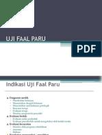 Uji Faal Paru