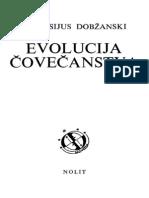Theodosius Dobzhansky - Evolucija Čovečanstva