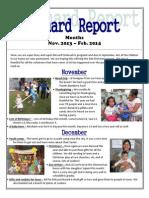 Newsletter Nov. 2013 - Feb. 2014