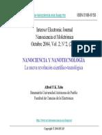 NanoTecnologia Magistral 2004 Peru