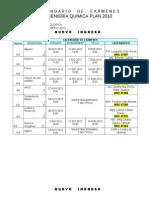 Exámenes IQ (Plan 2010)