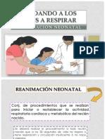 Ayudando a Los Bebes a Respirar