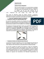 Transductores y Detectores