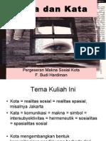 Filsafat_Kota Dan Kata