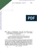 Tetrabenzyl Pyrophosphate Synthesis. I. Khorana. J. Chem. Soc., 2257, (1953)