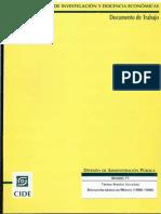 La Educacion Basica en Mexico 1990 1996DOCT2064547