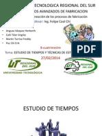Estudio de Tiempos Exposicion Felipe