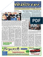 The Village Reporter - March 12th, 2014