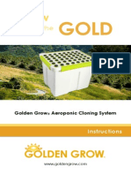 Golden Grow® Aeroponic Combo System Manual