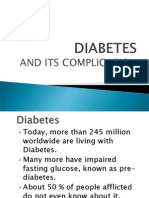 Diabetes and Its Complication(NobleLife)