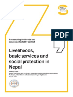 Livelihoods, Basic Services and Social Protection in Nepal