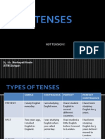 Tenses Quickguide