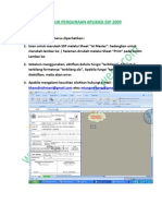 Petunjuk Pengunaan Aplikasi Ssp 2009