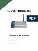Configuracion de Equipo D-link Dir-280