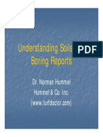 Soil and Boring reports