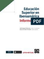 Consulta. EducacionSuperior en Iberoamérica Informe 2011,  JJ Brunner y R Ferrada  Eds. CINDA 2011
