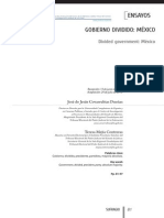 Gobierno Dividido Mexico