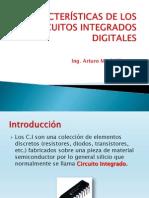 CARACTERÍSTICAS DE LOS CIRCUITOS INTEGRADOS DIGITALES