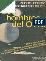 Los Hombres Del OVNI de Pedro Ferriz y Christian Siruguet
