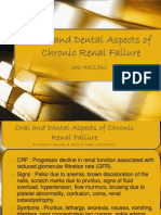 Oral and Dental Aspects of Chronic Renal Failure