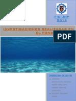 Investigaciones en El Fondo Marino Grupo