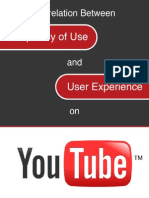Correlation Between Frequency of Use and User Experience on YouTube