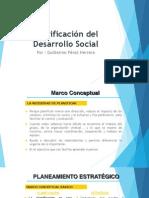 PLANIFICACION DEL DESARROLLO SOCIAL