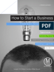 How to Start a Business (General Overview)