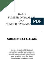 5-SDA dan SDM