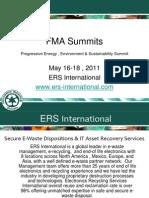 FMA Summits Progressive Energy ,Environment & Sustain- ERS International