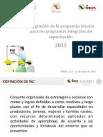 04 Propuesta Técnica PIC Estatal 2013