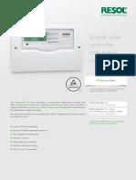 Resol Al Controller Data Sheet